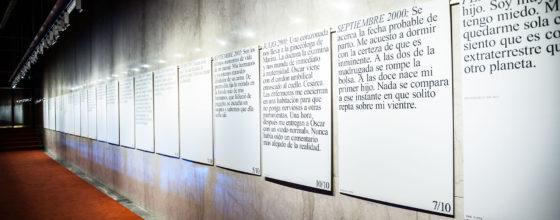 Mats Staub «Diez Momentos en mi vida» (2017, Buenos Aires) © Javier Sabate