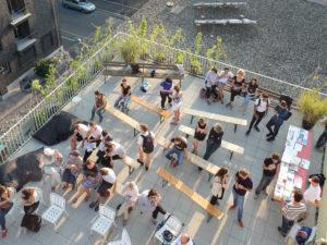 Sarina Scheidegger «Rooftop Readings»