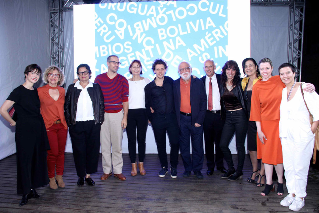 Launch event at Sesc Videobrasil (2017, Sao Paulo)