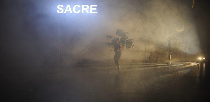 Lea Moro «Le Sacre du Printemps, a ballet for a single body» (Tanztage 2015)© Dieter Hartwig