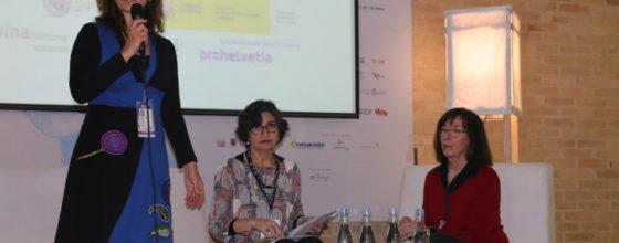 Presentación Leta Semadeni y Claudia Cabrera - Imágenes tomadas por los participantes y coordinadores de La Cantera de Traductores 2018