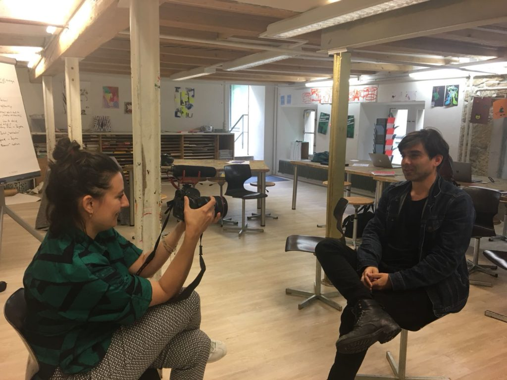 Enrique Rivera interviewed by Aline Juchler (Pro Helvetia)