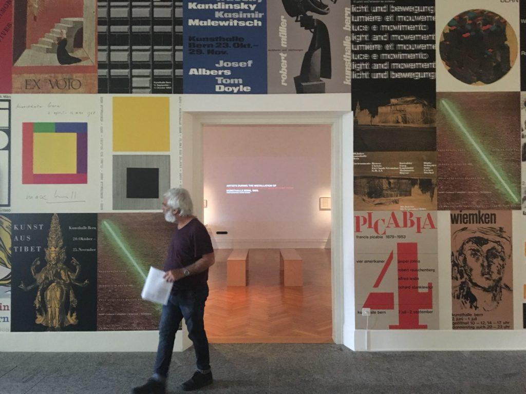 At the Bern Kunsthalle - exhibition «Harald Szeemann: Museum der Obsessionen»