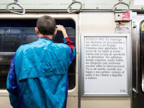 Santiago (Chile) metro line n°5 (c) Benjamin Matte