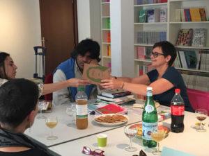 Editors at «La joie de Lire» in Geneva