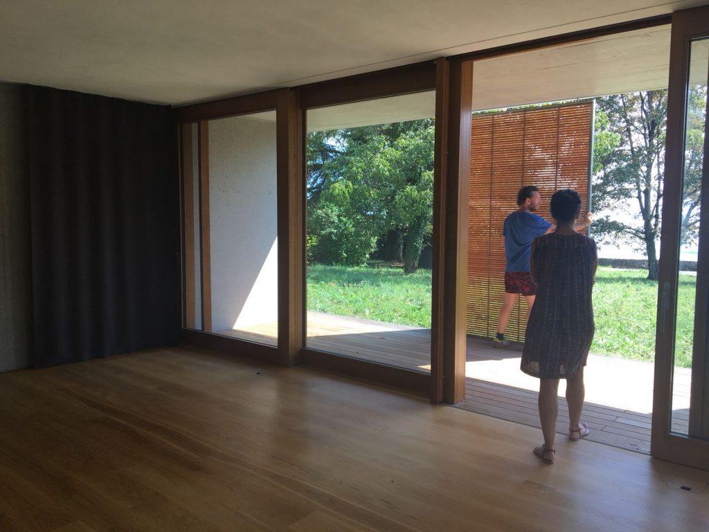 La Becque artist residency Installations. ©COINCIDENCIA