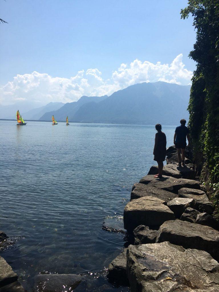 La Becque is located next to Lake Geneve. ©COINCIDENCIA
