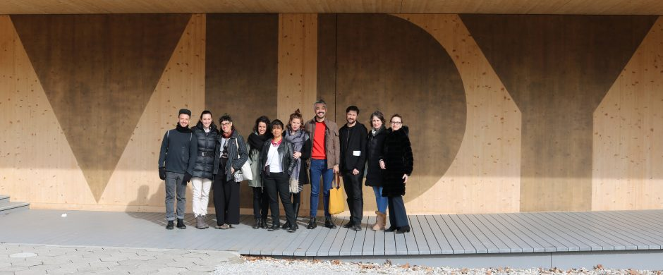 South American Delegation visiting Théâtre Vidy-Lausanne ©COINCIDENCIA