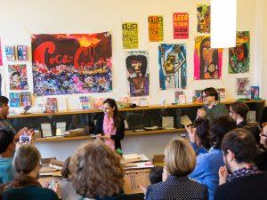 «Eloisa Cartonera» publishing house during «Argentinische Litteratur» ©Nicolas Duc