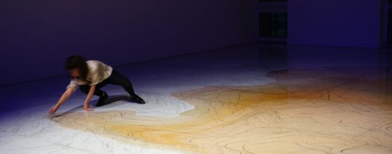 «El color del Rio» performance by Jimena Croceri @Marble Faena Arts Center ©Jimena Croceri