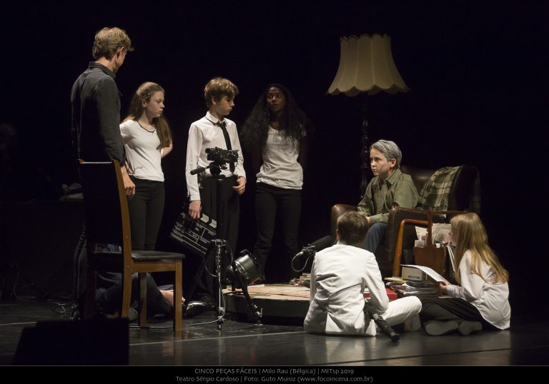 Five Easy Pieces at Sergio Cardoso Theater in Sao Paulo ©Guto Muniz