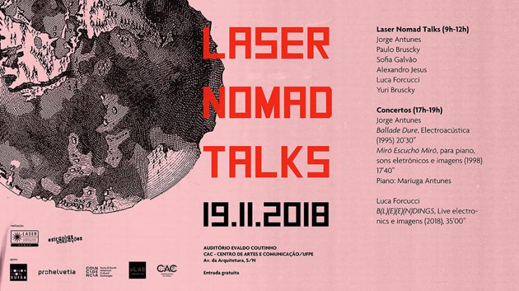 Laser Nomad Talks in Recife, Brazil