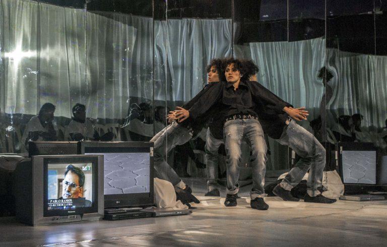 «Morales» theatre piece created by Aramburo and his company Kiknteatr in 2015 ©Orus