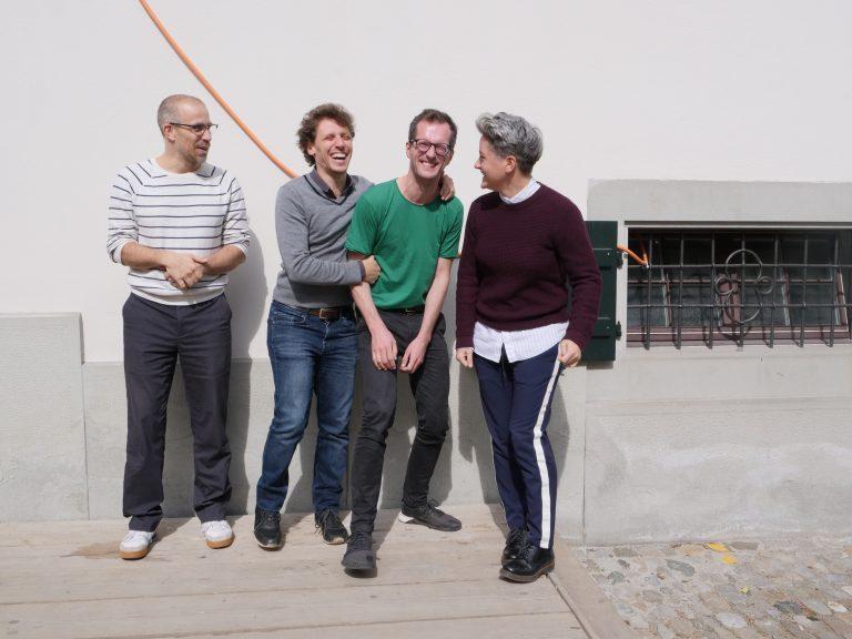 Jasper Walgrave, Benjamin Seroussi, Tobias Brenk and Maria Angelica Vial ©COINCIDENCIA