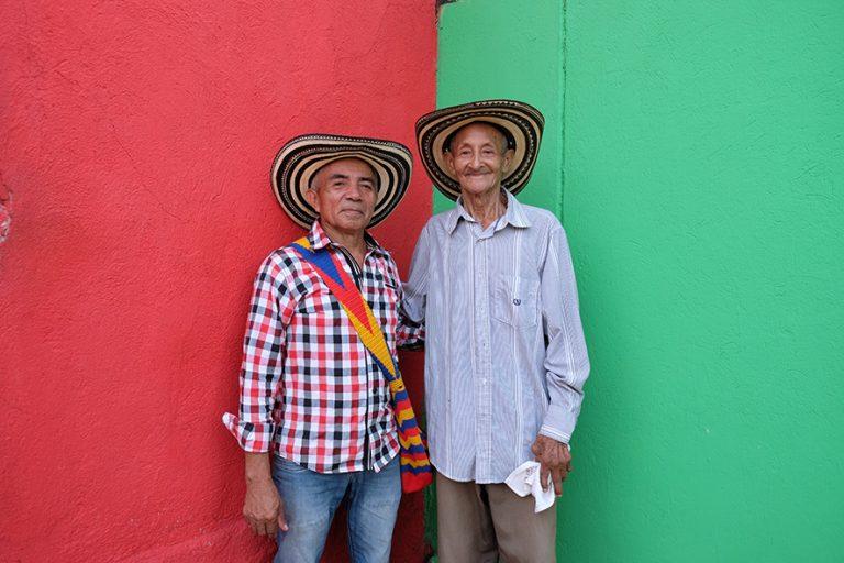 Rafael Castro Fernández y Juan Chuchita Fernández of the group «Los Gaiteros de San Jacinto», San Jacinto/Bolívar, 09 March2019 ©Mirjam Wirz