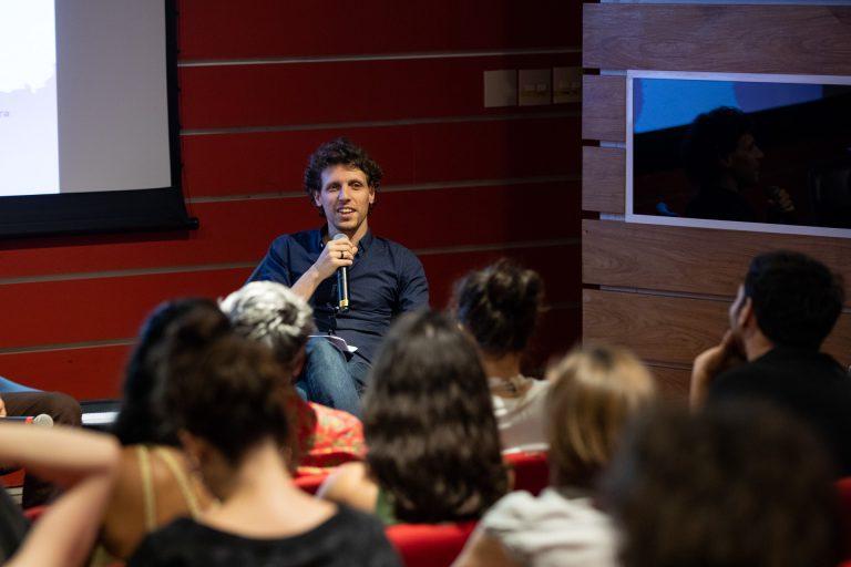Benjamin Seroussi during São Paulo Discussions, December 2019 ©Pedro Prata