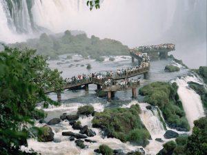 Photograph of «Cataratas do Iguaçu» part of the exhibition «Conquistador» ©Nicolas Savary