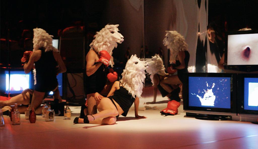 "Performance ""Bolivian Trilogy"", Photo by Siim Vahur"