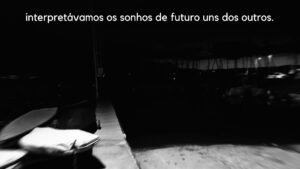 Frames from the videos posted on Instagram, with excerpts from Carl Seidler's texts about Brazil © Ismael Monticelli