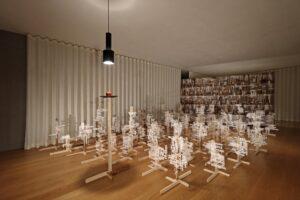 Installation view at La Becque, Switzerland © Ismael Monticelli