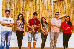 Students from San Ignacio de Moxos.